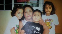 Veronica Zepeda and her children.