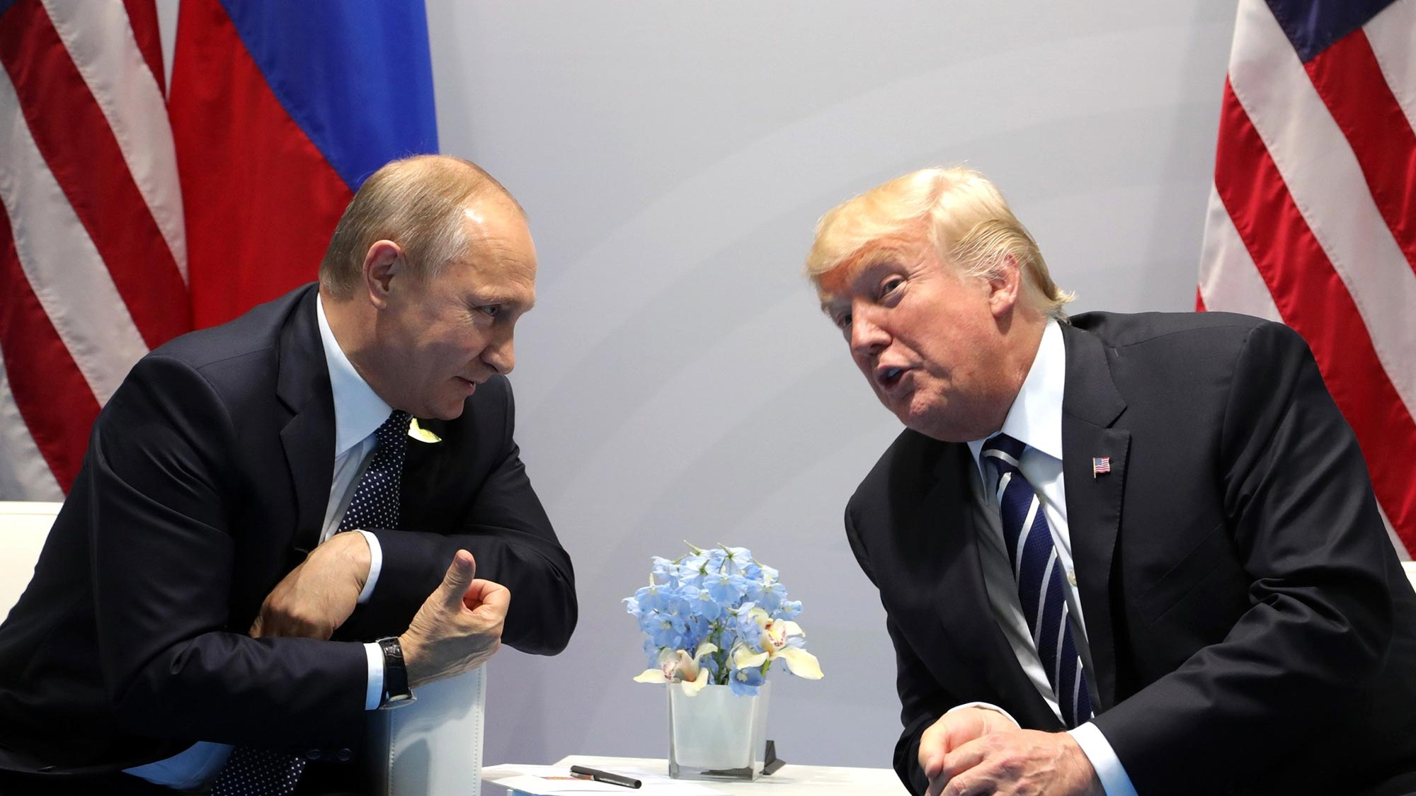 Trump pressed Putin over election interference for 40 minutes: report