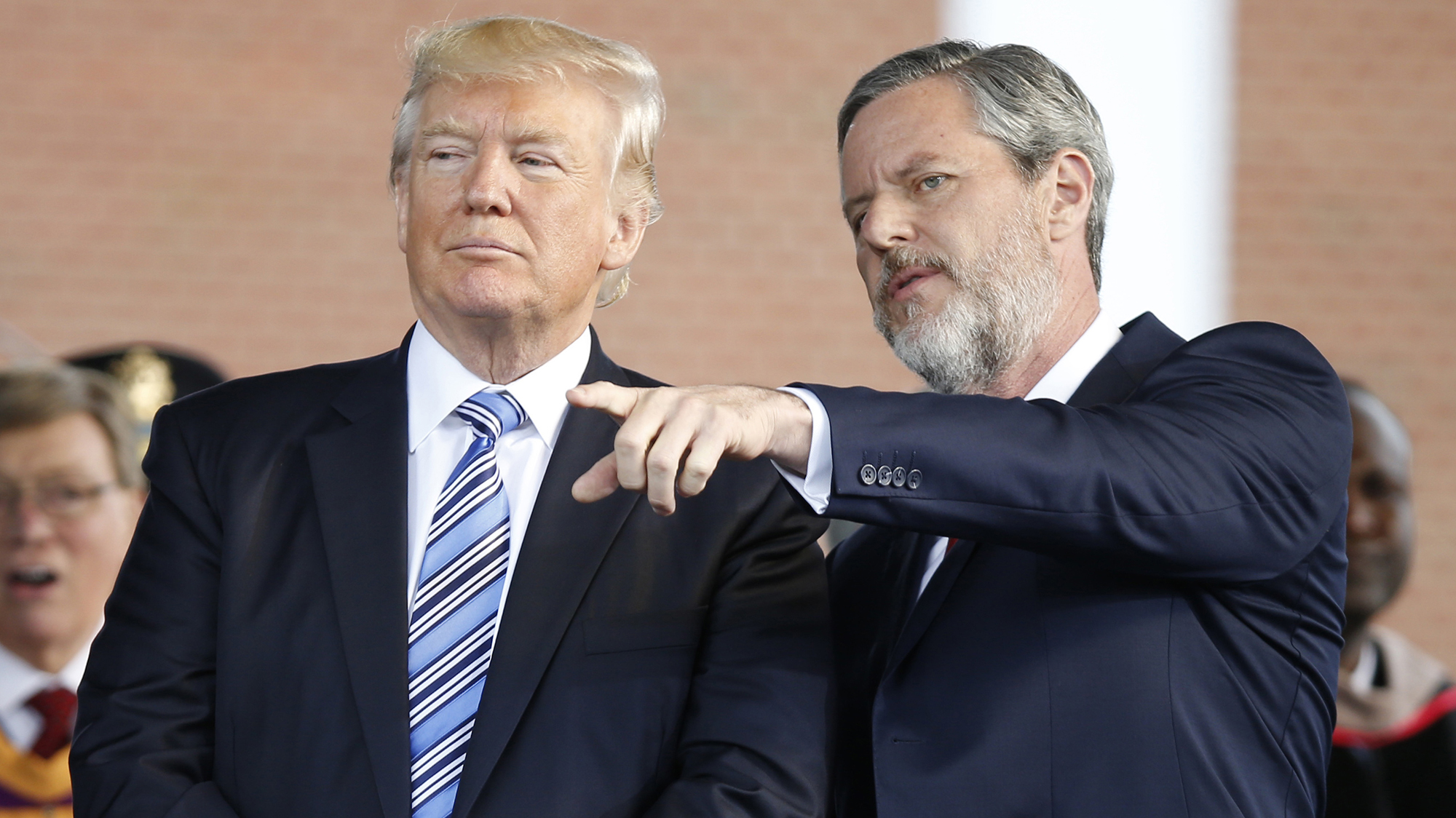 Trump cheers Falwell for 'fantastic' defense on 'Fox and Friends&#39