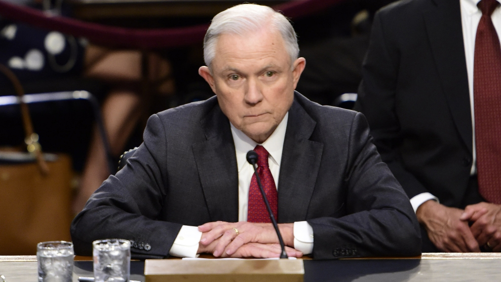 Jeff Sessions Is Peddling False Information About MS-13 – Mother Jones