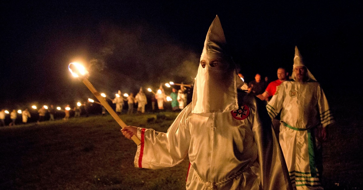 photo image Congress Just Told Trump to Confront a Rising Terror Threat—from White Supremacists