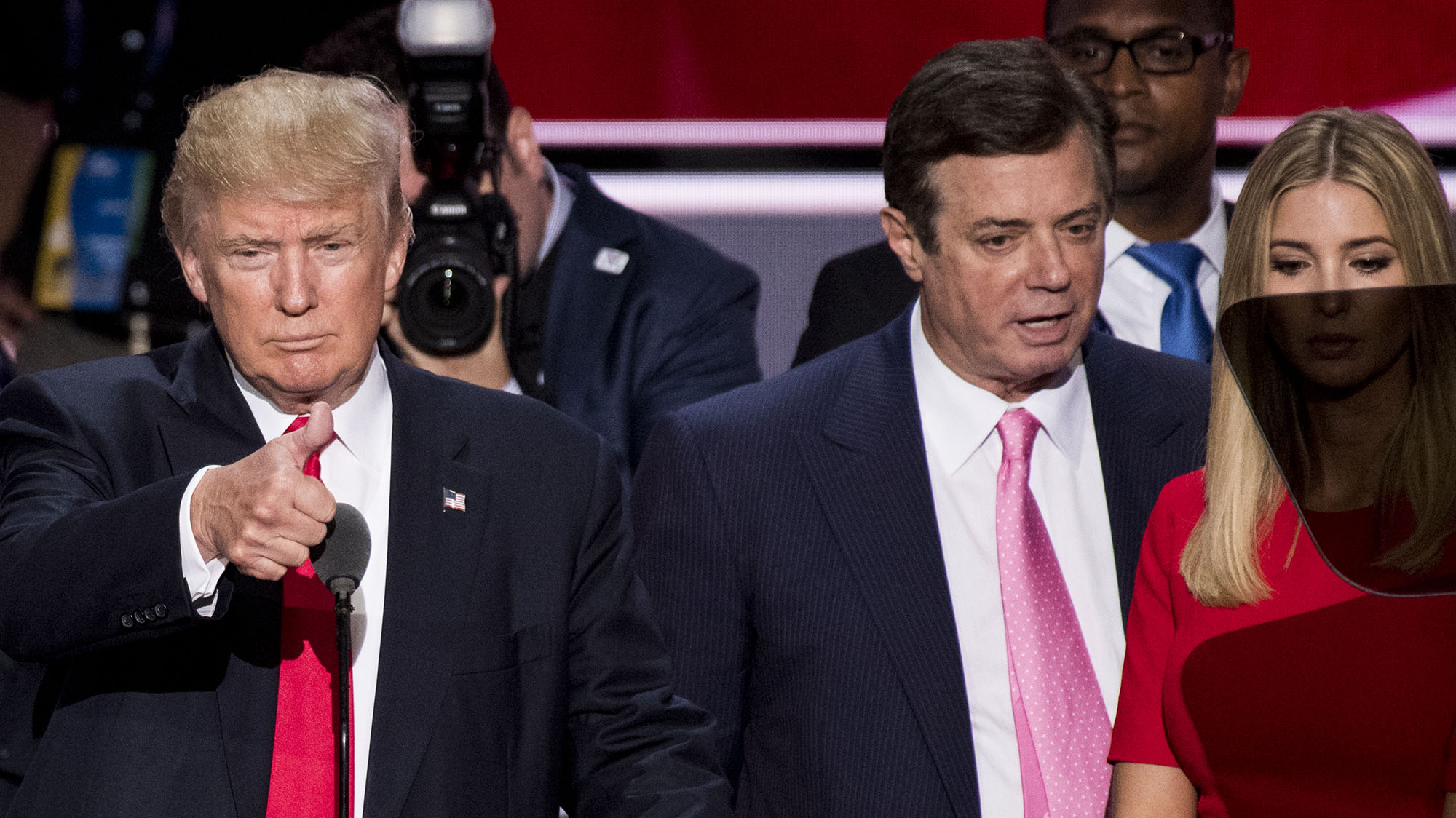 Paul Manafort, former Trump campaign chairman, was wiretapped by U.S.  government