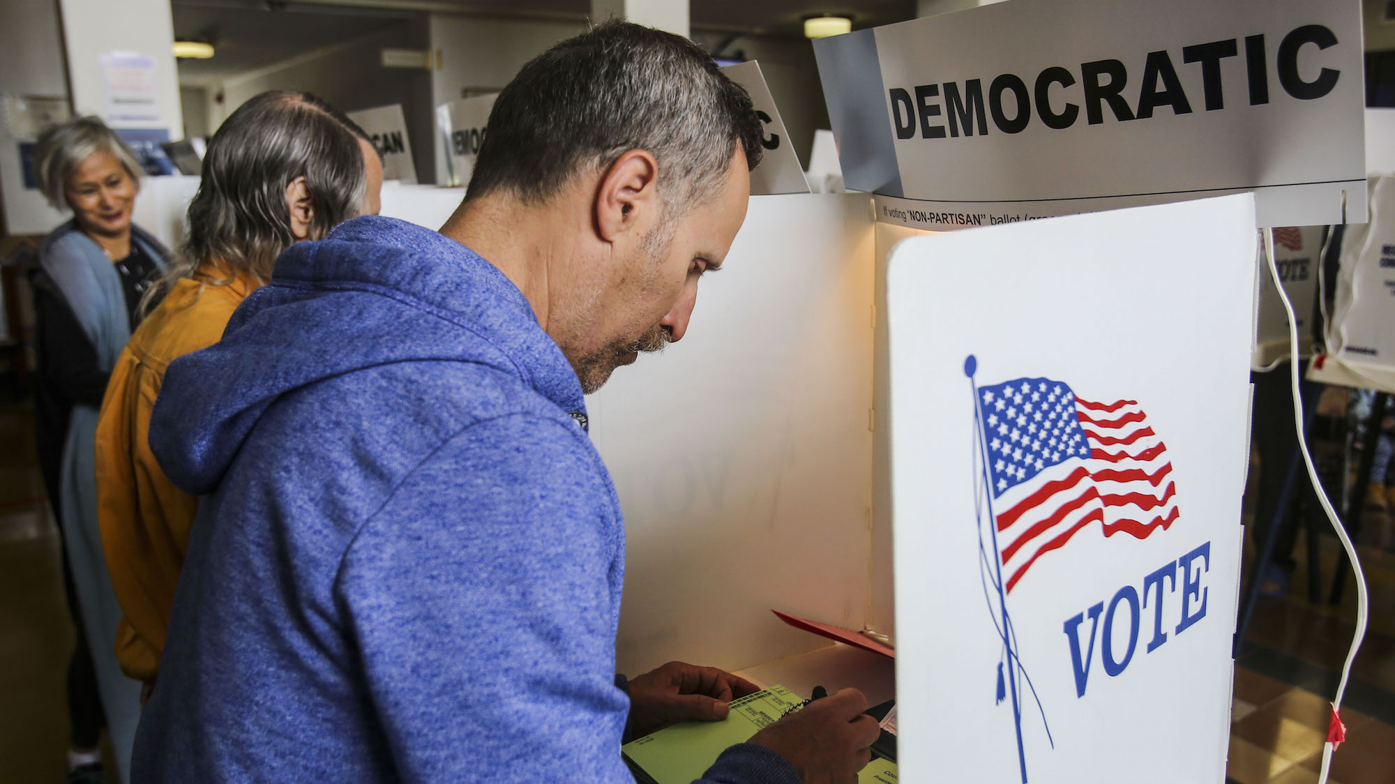 California Moves Presidential Primary Election to March
