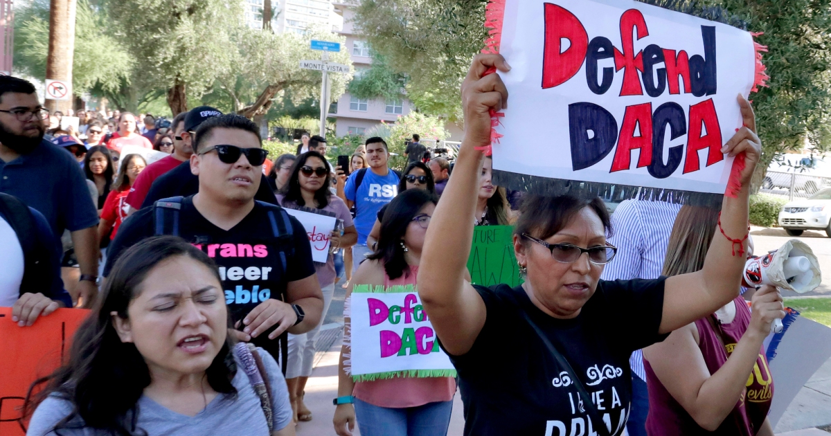 Biden vows to appeal judge's ruling suspending DACA – Mother Jones