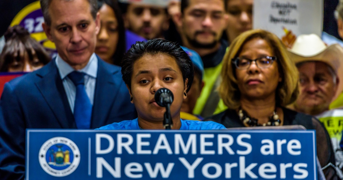 """photo image Trump Says He's Taken """"No Action"""" on DACA, But 700,000 Dreamers Now Can't Leave the Country"""