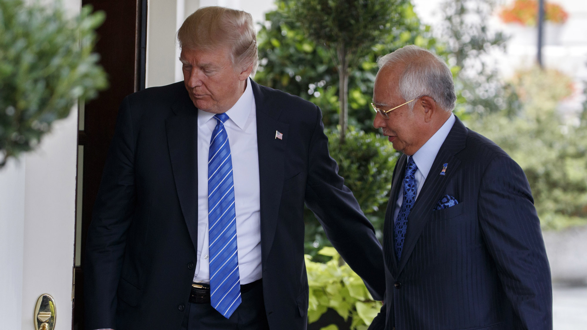 Your enemy is our enemy too, Malaysia PM tells the US
