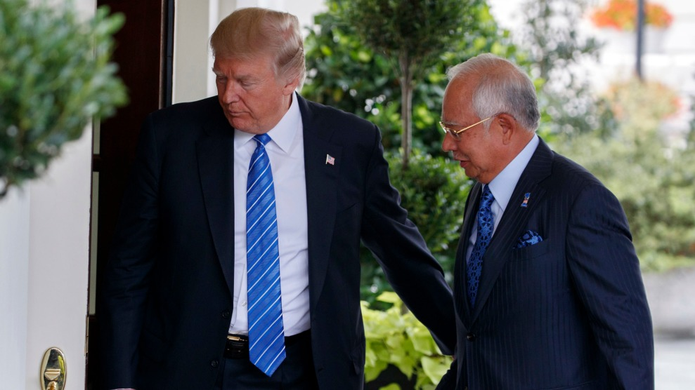 Trump and Najib