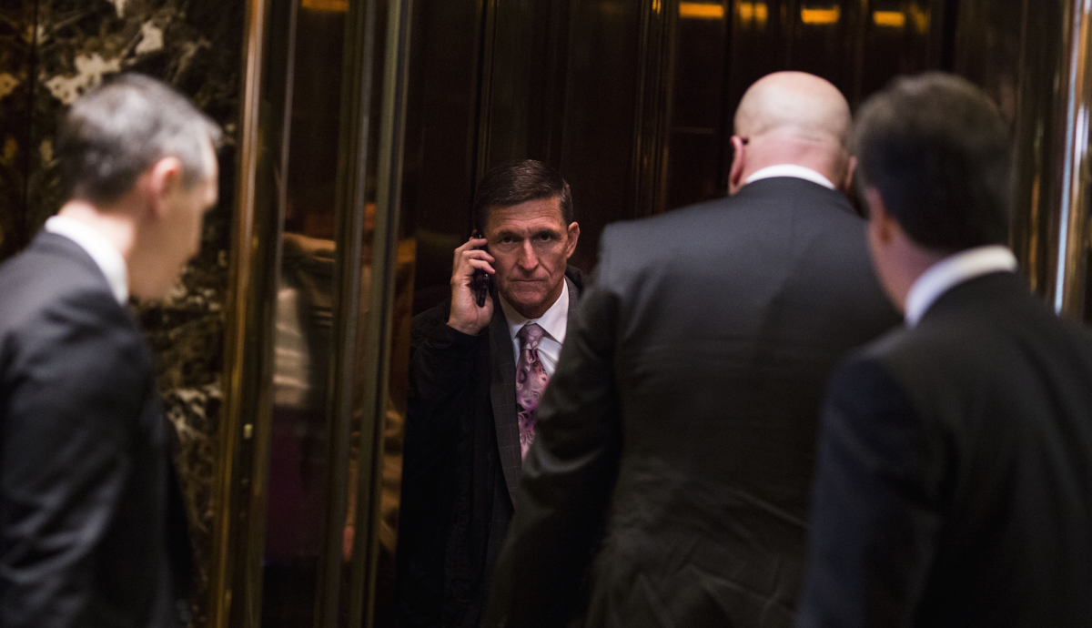 Michael Flynn Jr. Is Being Investigated in the Federal Russia Probe