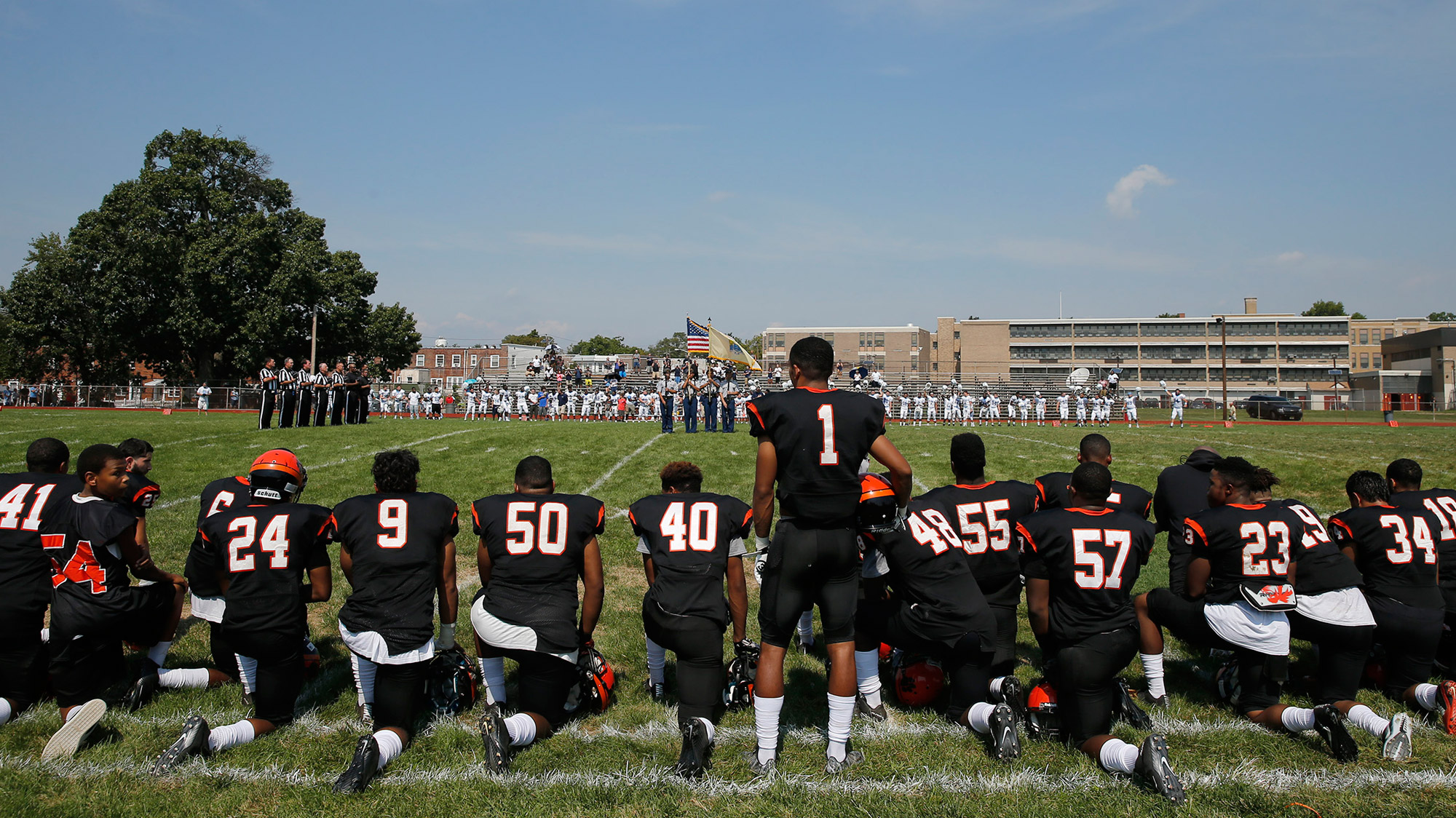 Parkway High athletes could be kicked off team kneeling during anthem