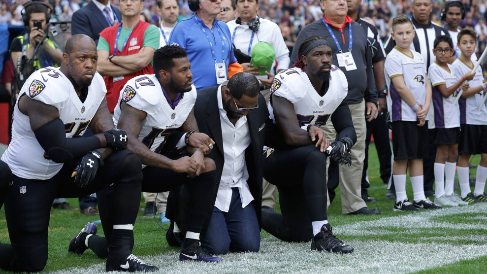 Quote By Retired Nfl Player Ray Lewis: NFL Players Across The Country Take A Knee In Response To
