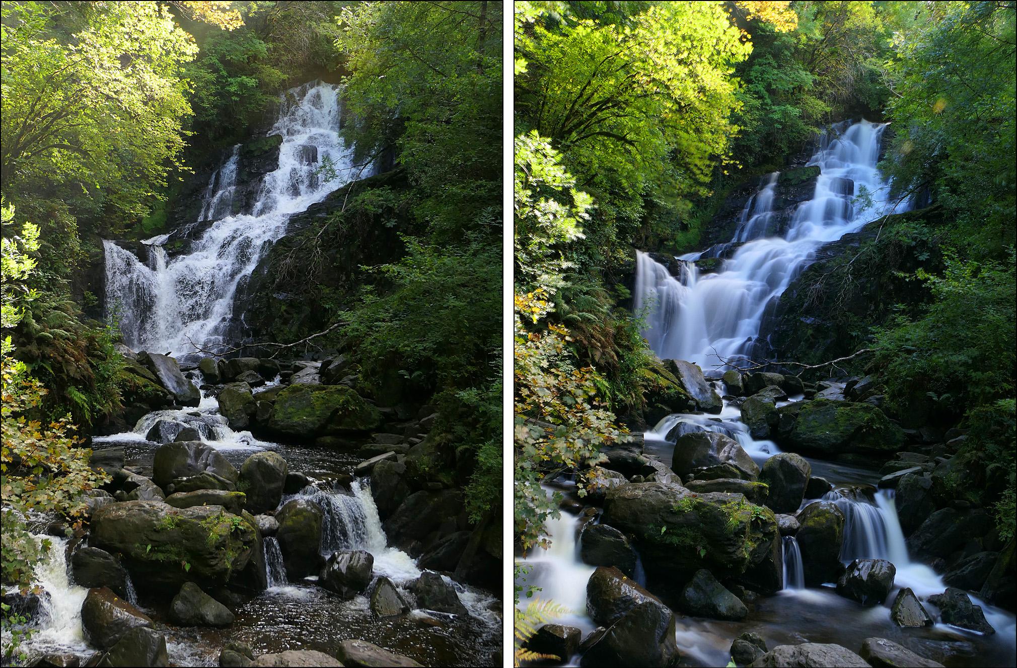That velvety water effect
