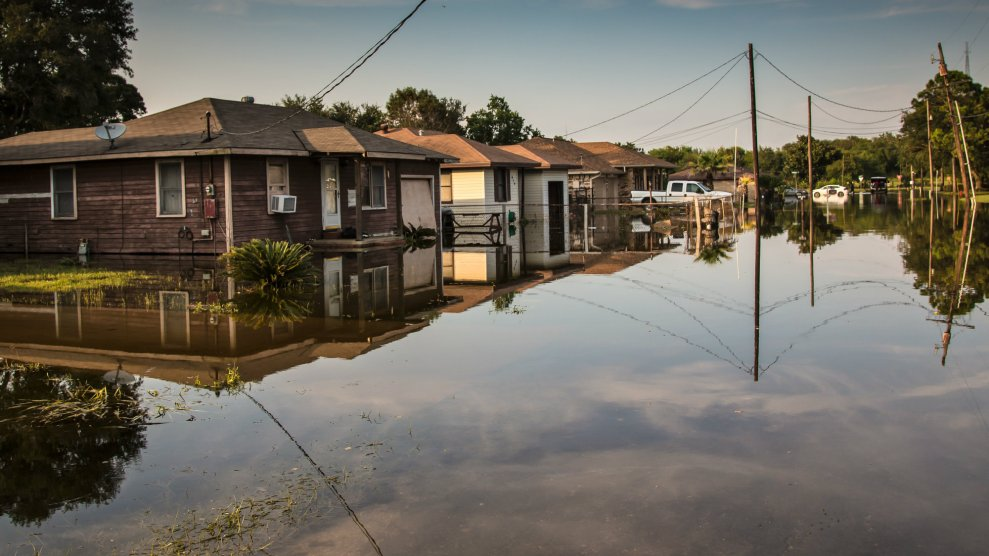 Toxic Water Has Flooded Homes In Houston After Harvey