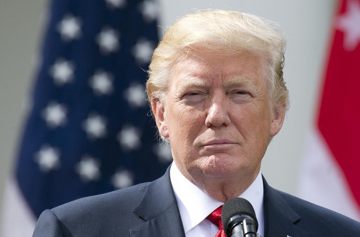 Donald Trump Chose a Very Weird Day to Visit Congress