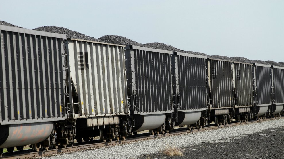 This Huge Rail Company Is Spewing Coal Dust All Over a Low