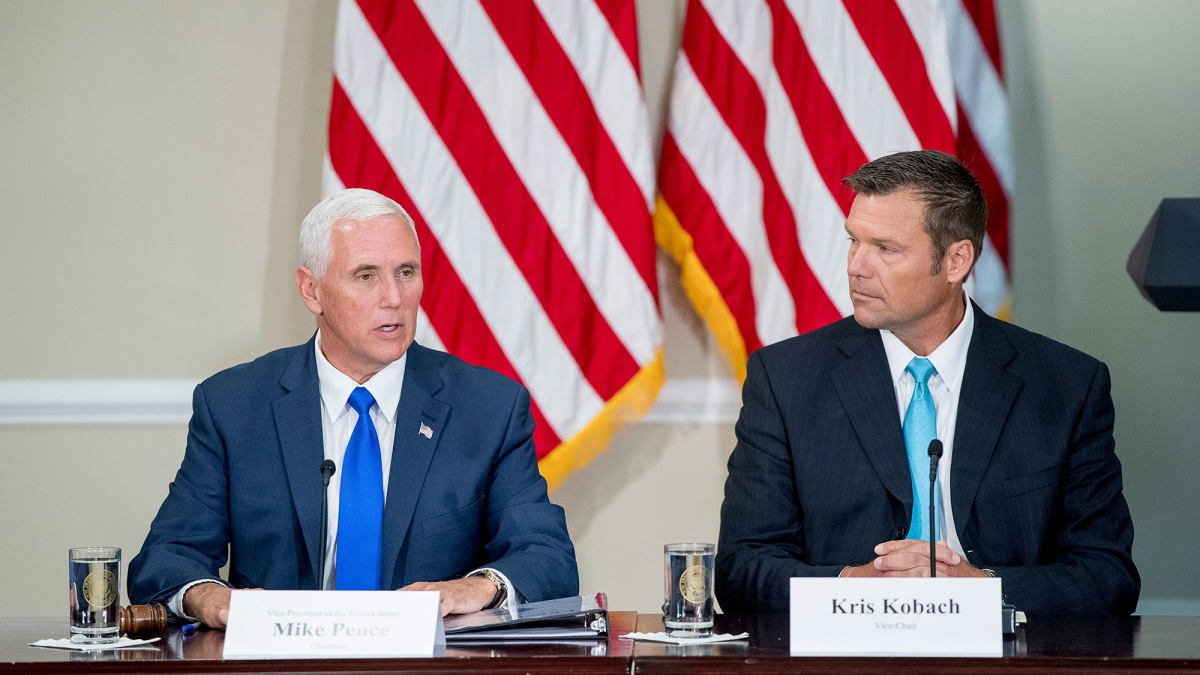 New Document Shows Trump's Election Commission May Be on Shaky Legal Ground