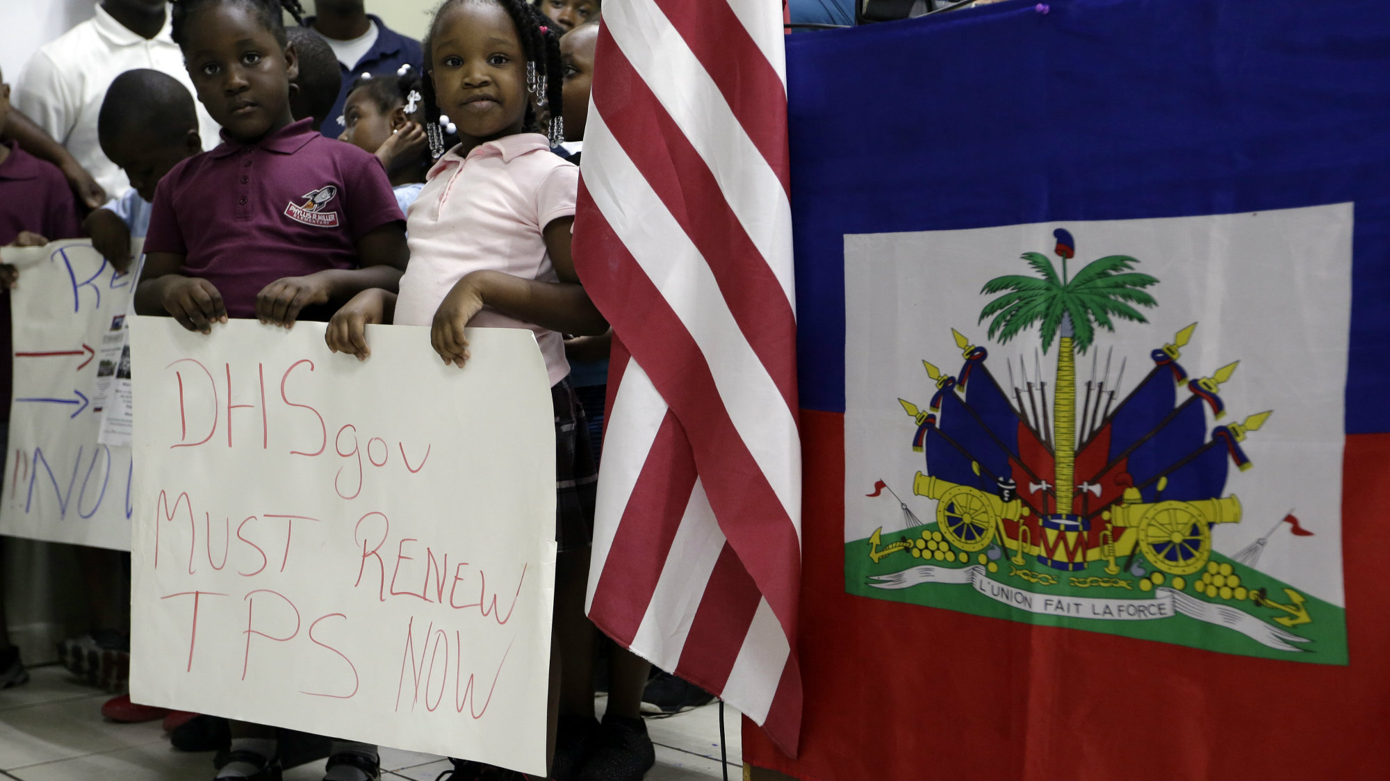 Haitian leaders decry end to temporary residency program