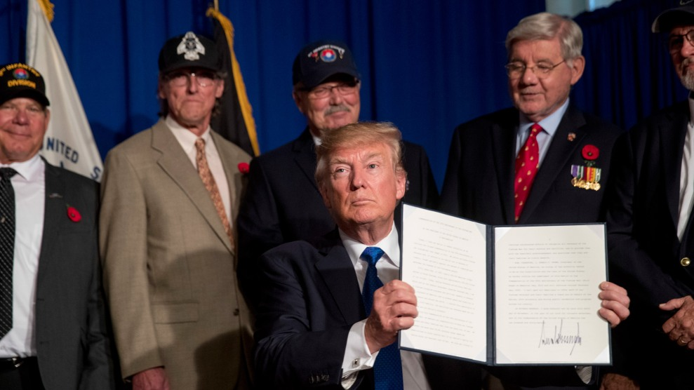 "99c396fe5 Trump Is ""Not Failing"" on Helping Veterans"