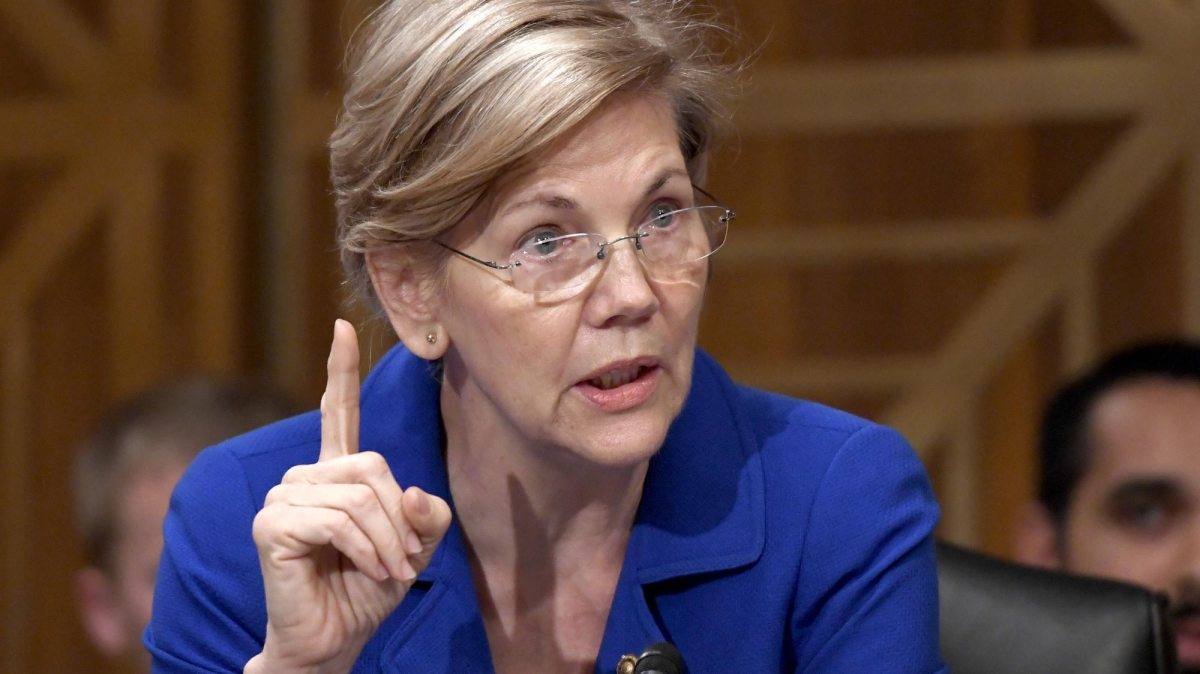 Elizabeth Warren calls out Trump's meddling in the agency she created, promising fury