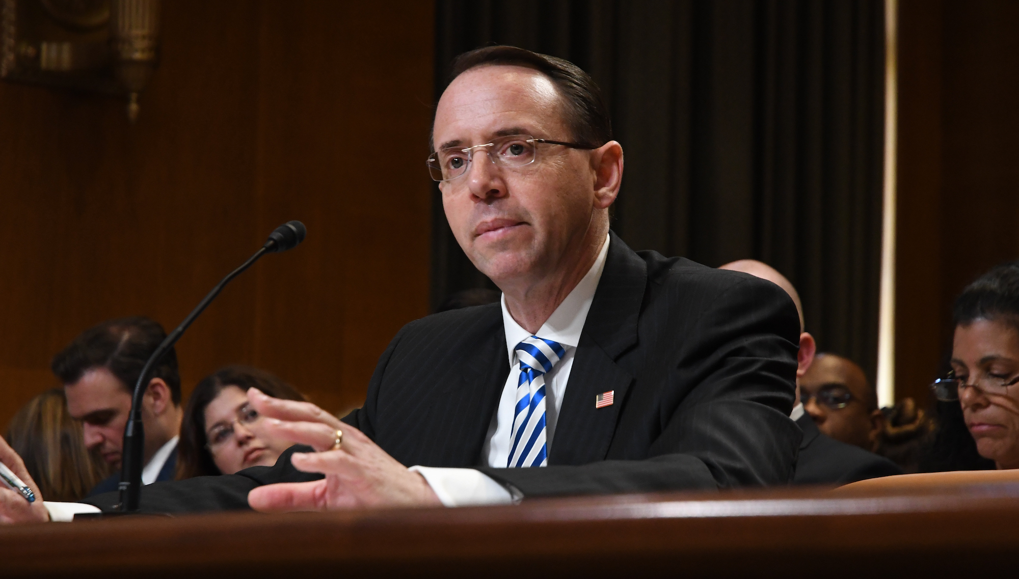 Deputy AG refuses to say if Federal Bureau of Investigation paid for anti-Trump dossier