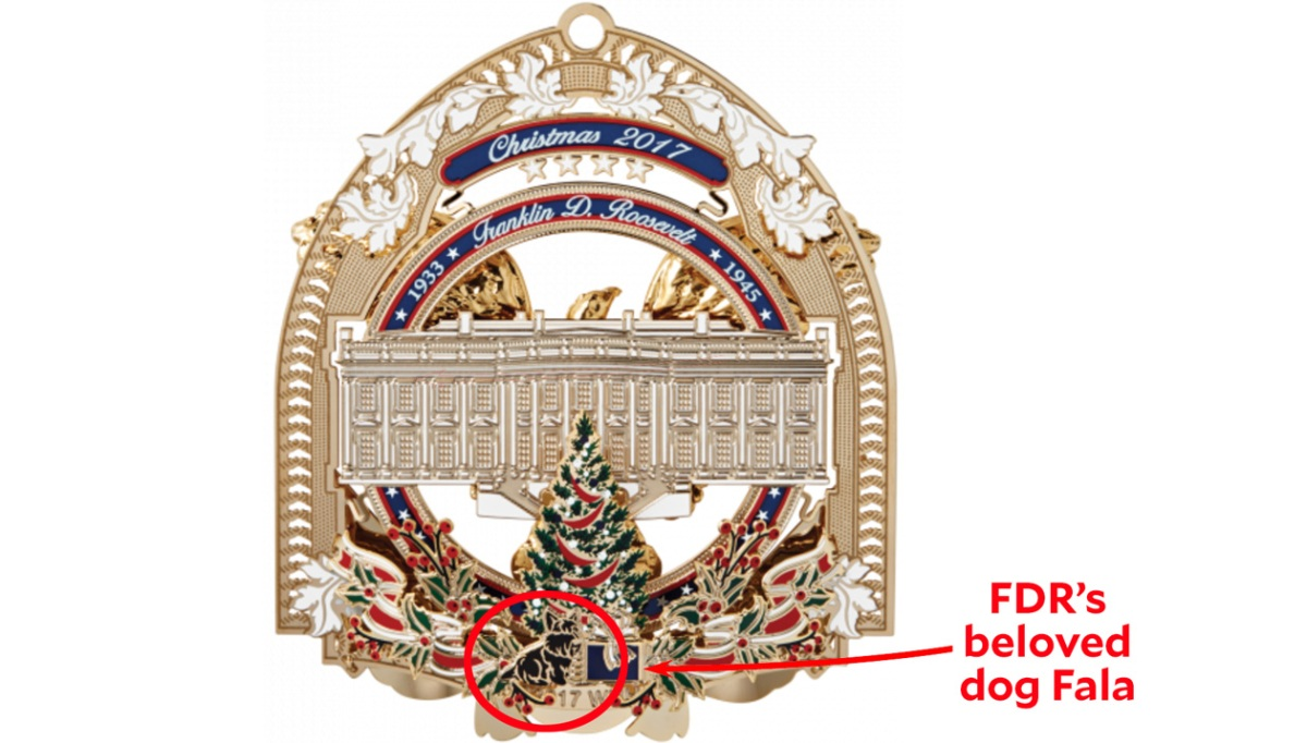 Whitehouse Christmas Ornament