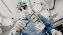 Surgeon with dollar