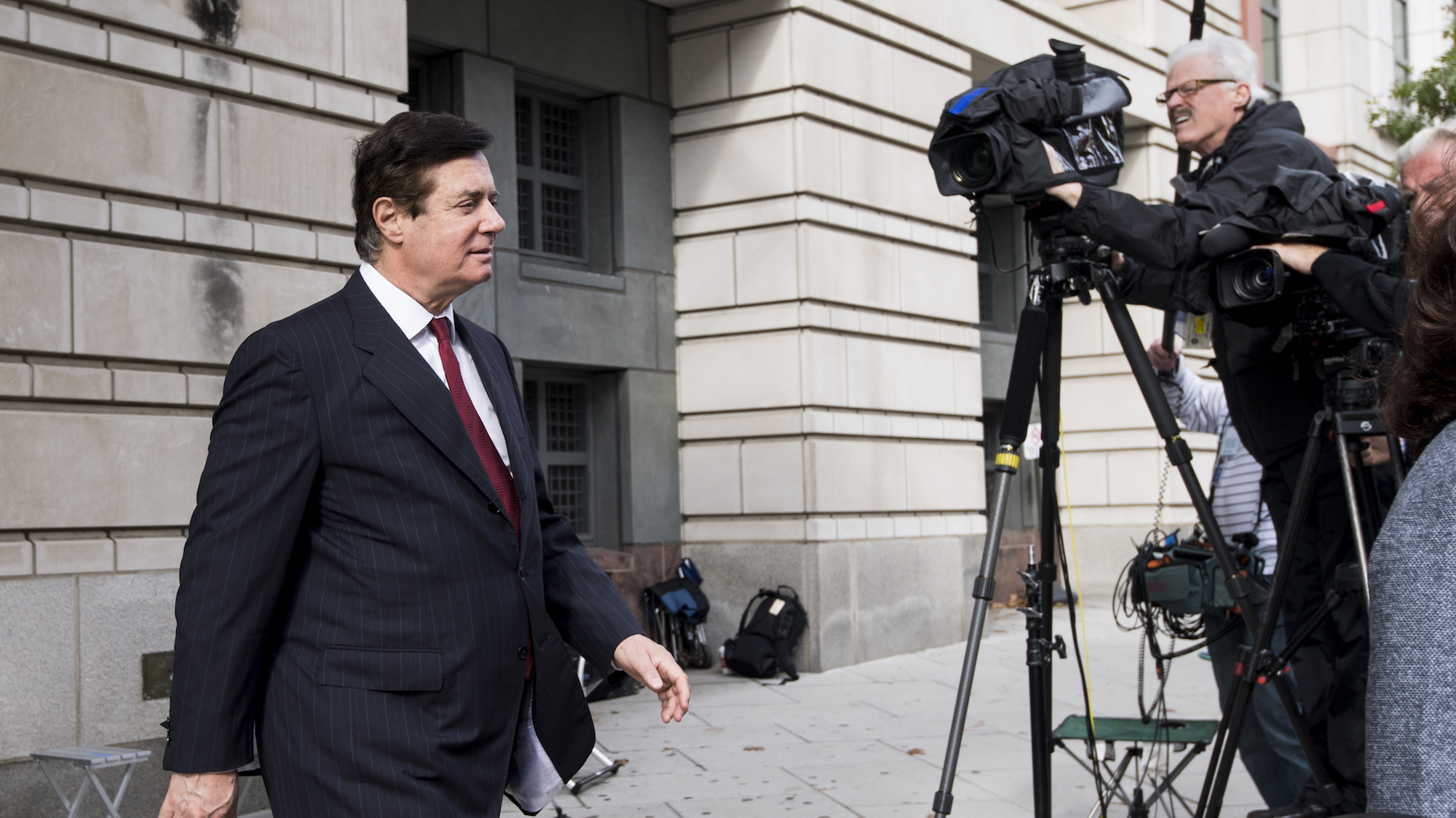 Paul Manafort sent to jail over witness-tampering charges