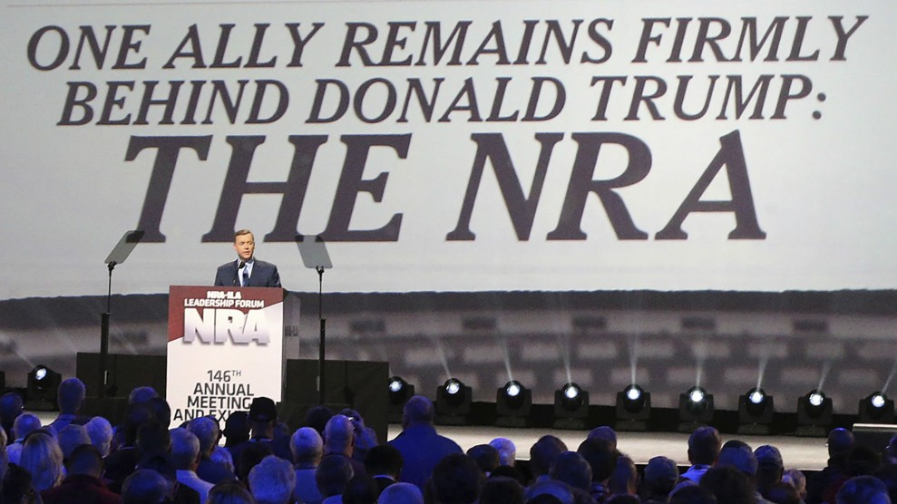The NRA Raised a Record Amount of Money in 2016 – Mother Jones