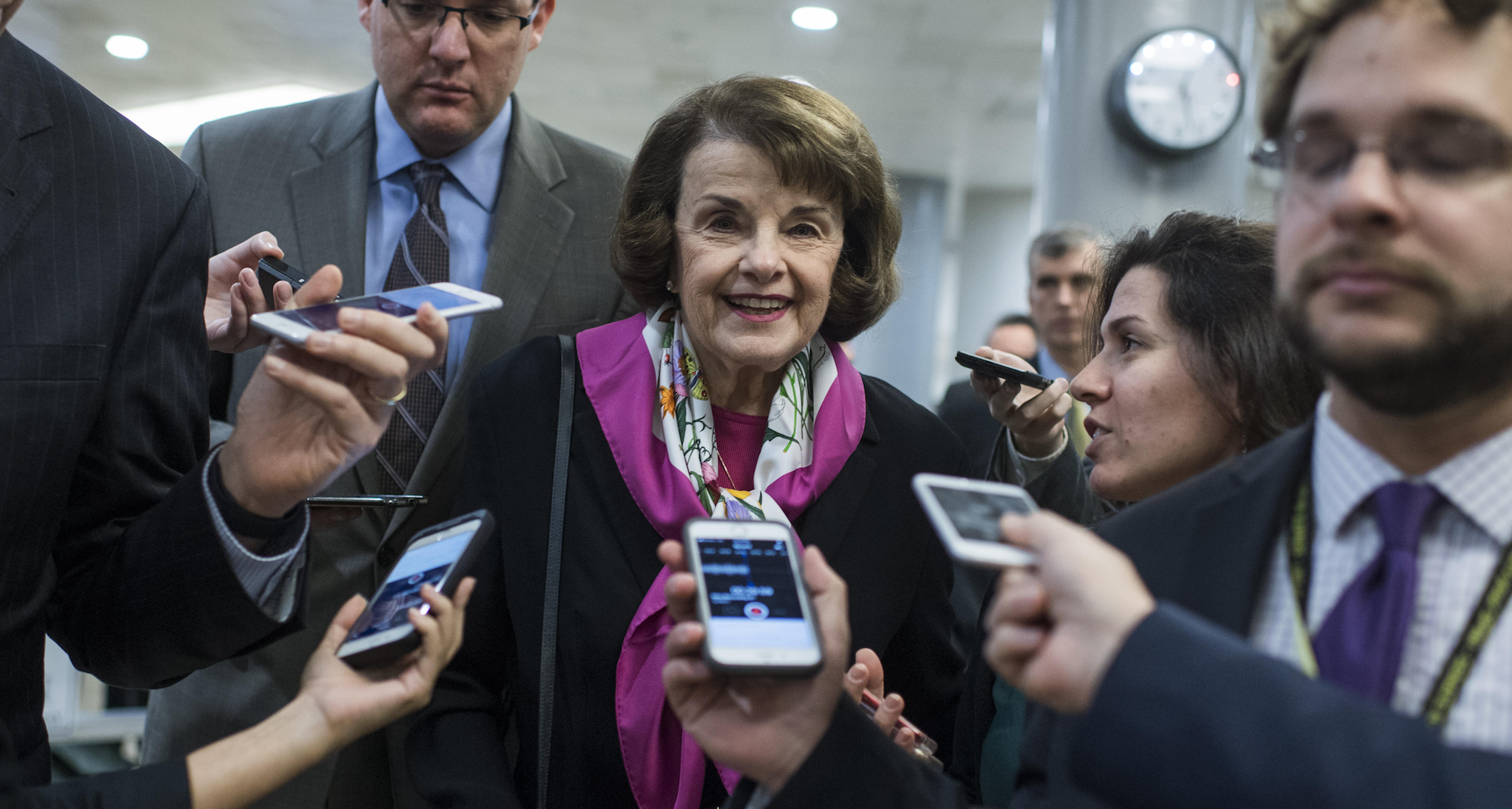 Trump gives Feinstein a re-election gift