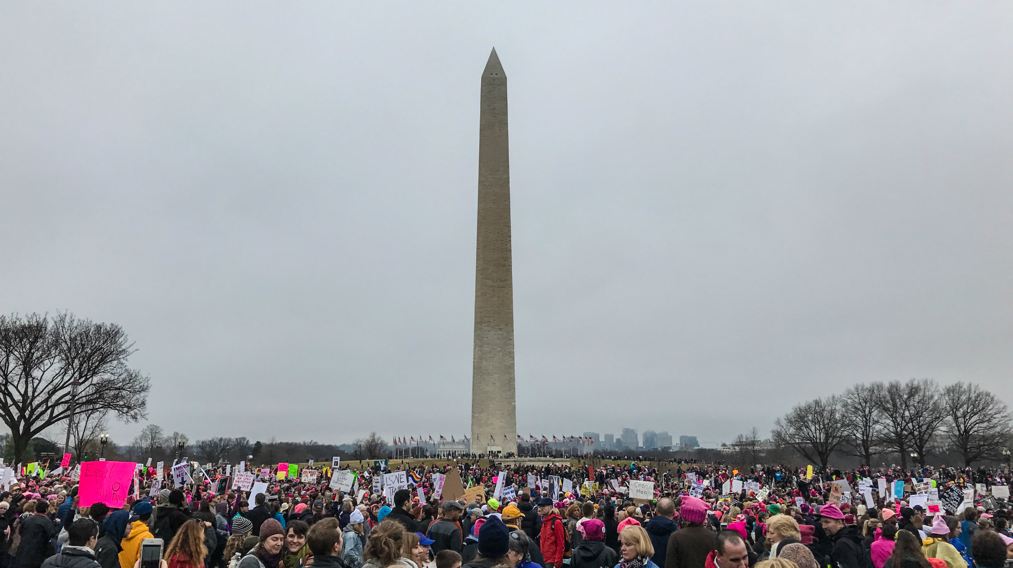 Thousands flood Baltimore for women's march