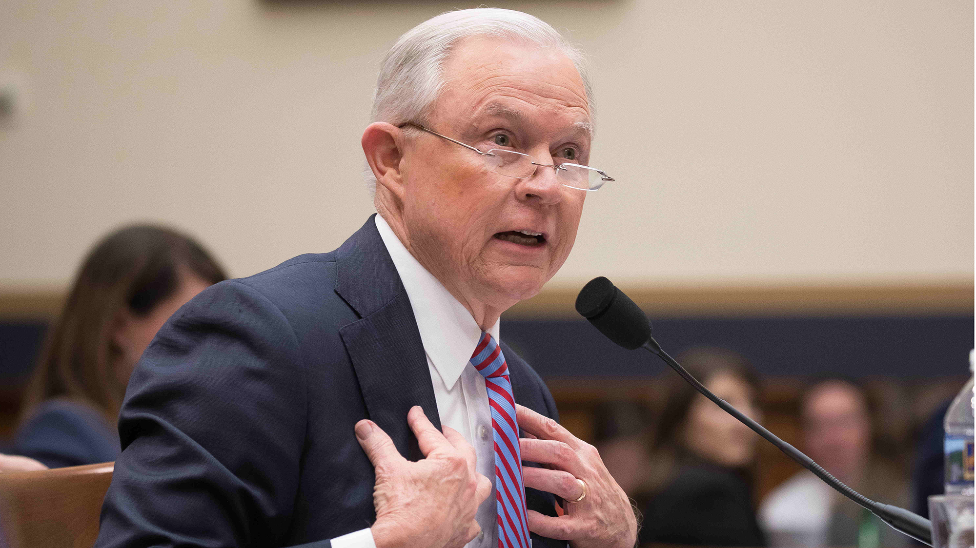 Attorney General Jeff Sessions testifies before the House Judiciary