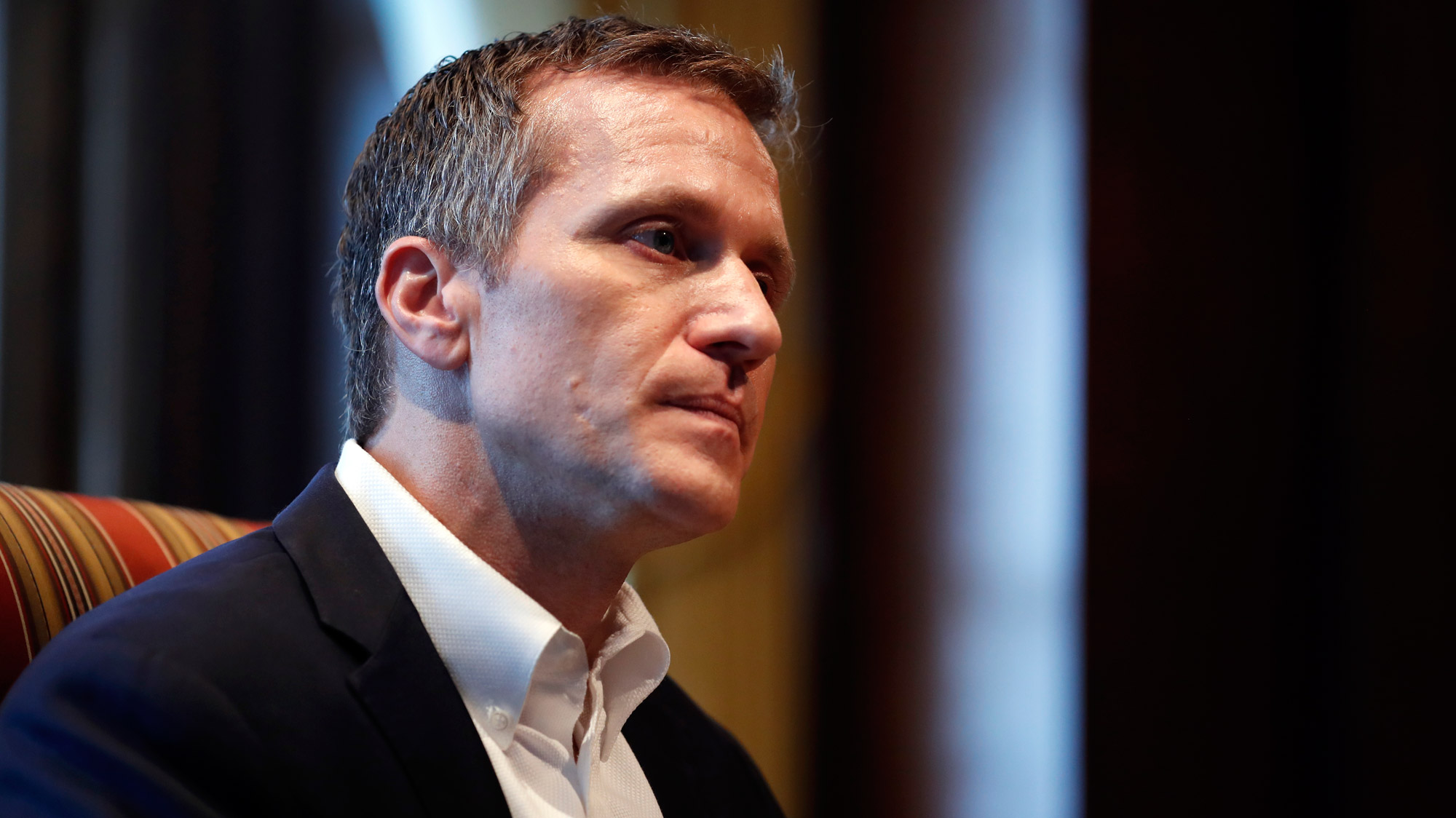 Married Missouri governor Eric Greitens accused of blackmailing lover