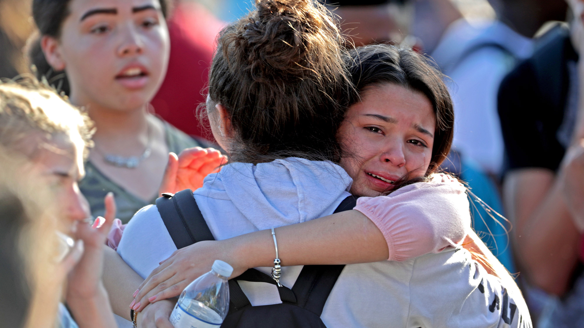 Students gather at Florida's statehouse to push for change in gun laws