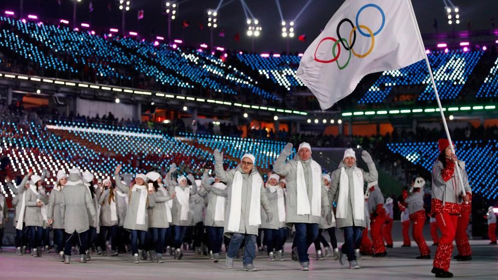 https://www.motherjones.com/wp-content/uploads/2018/02/russia-athletes-olympics-opening-2918.jpg?w=990