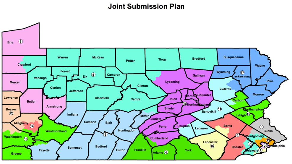 Pennsylvania  >> Pennsylvania Republicans Are Trying To Replace One Gerrymander With