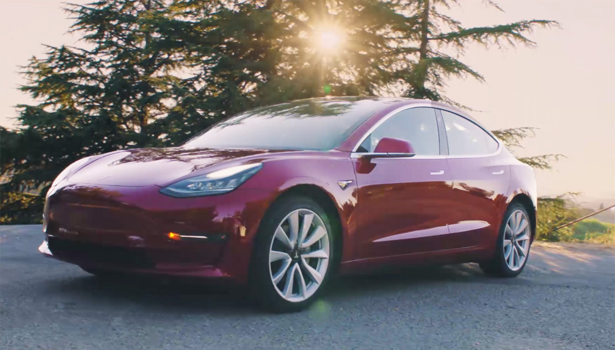 Tesla Model 3 braking update released
