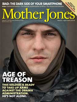 Mother Jones March/April 2010 Issue