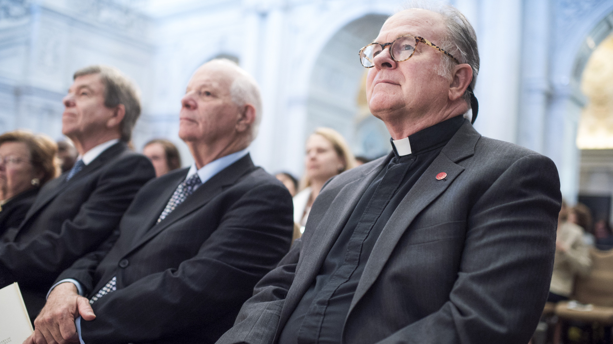 The House chaplain had a prayer and then he didn't