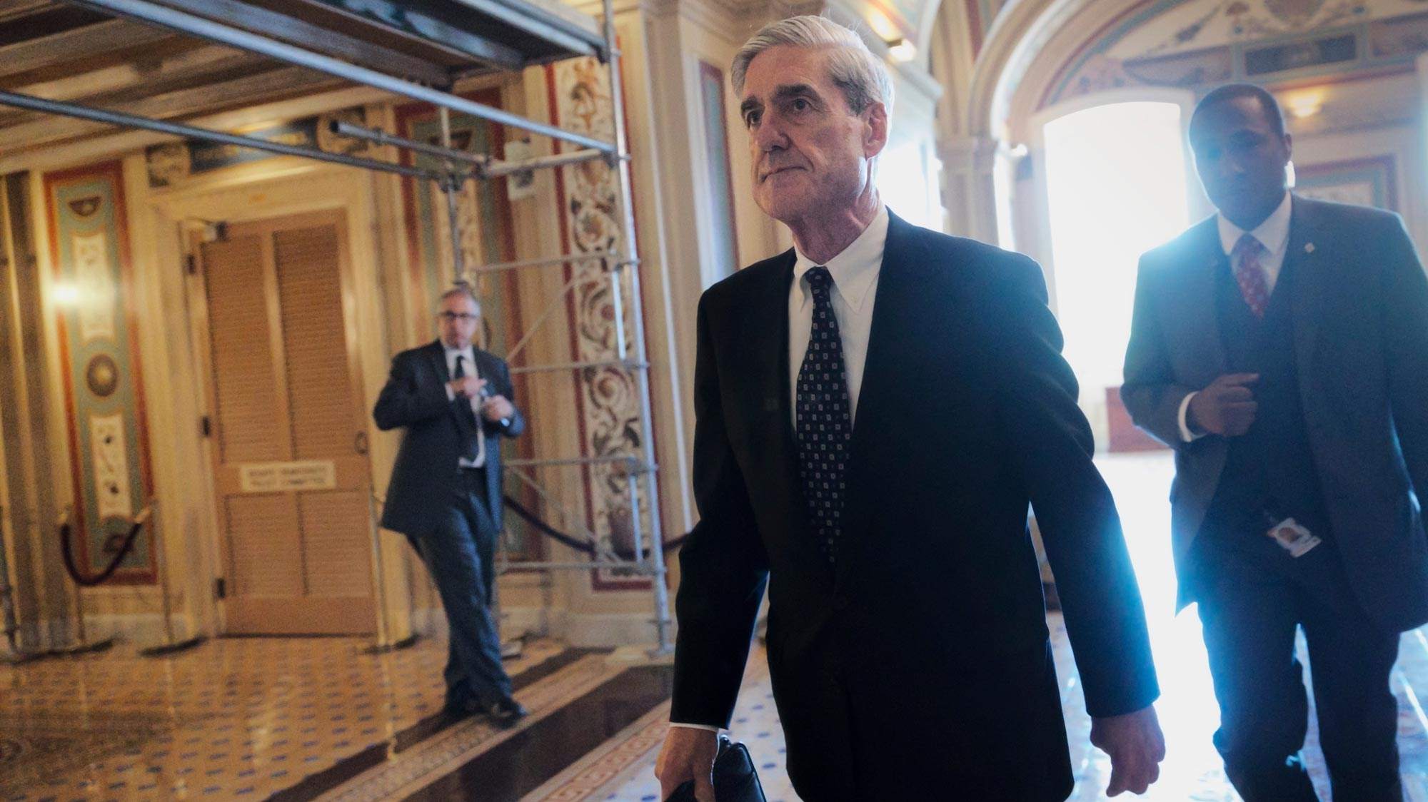 Mueller reportedly says Trump is not considered criminal target in Russian Federation inquiry