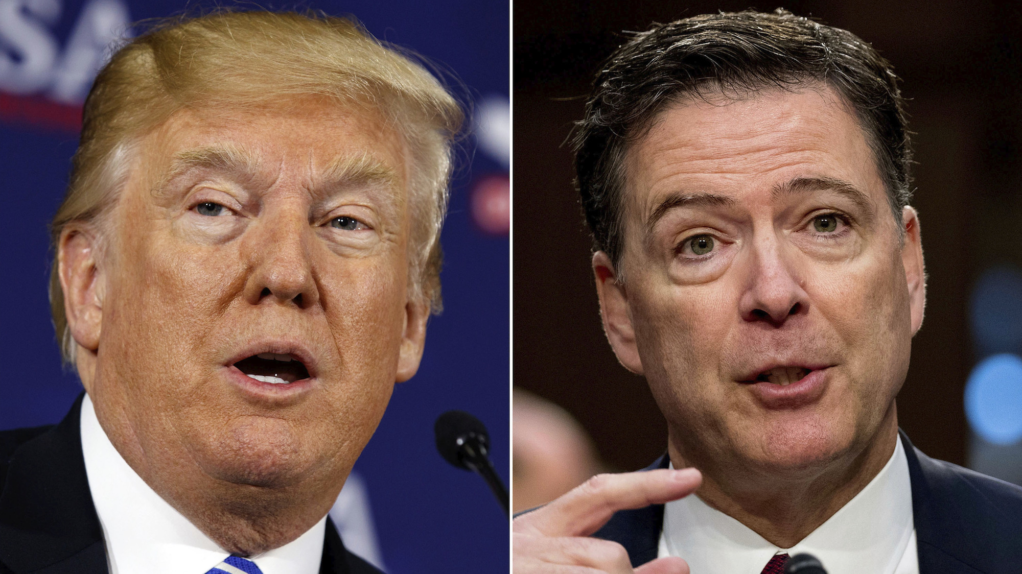 James Comey Tells Colbert Why He Was Surprised When Trump 'Whacked' Him