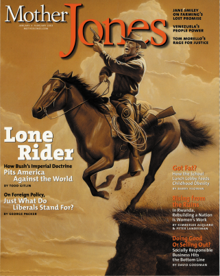 Mother Jones January/February 2003 Issue
