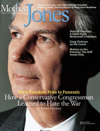 Mother Jones January/February 2006 Issue