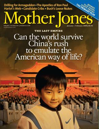 Mother Jones January/February 2008 Issue