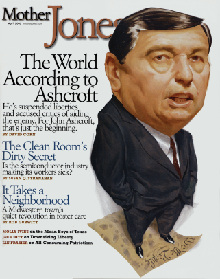 Mother Jones March/April 2002 Issue