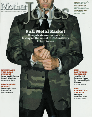 Mother Jones May/June 2003 Issue