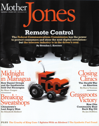 Mother Jones September/October 2001 Issue