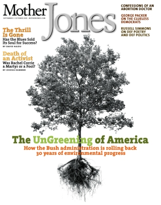Mother Jones September/October 2003 Issue