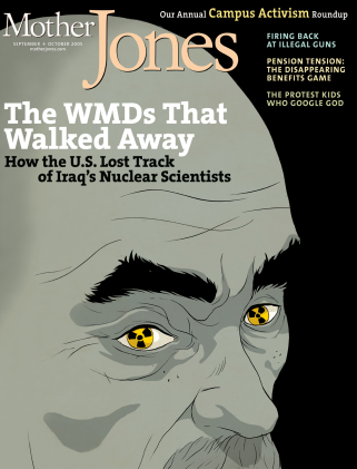 Mother Jones September/October 2005 Issue