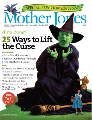 Mother Jones September/October 2008 Issue