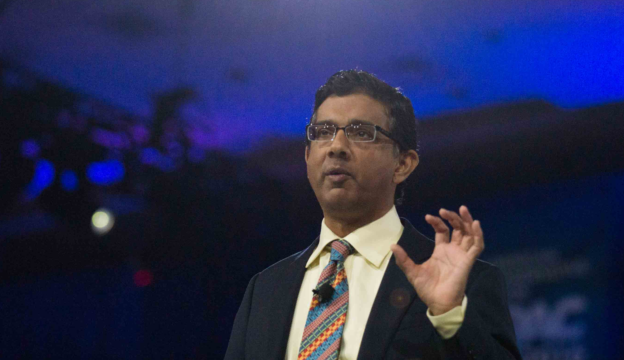 Trump Pardons Dinesh D'Souza, Who Pleaded Guilty To Campaign Finance Fraud