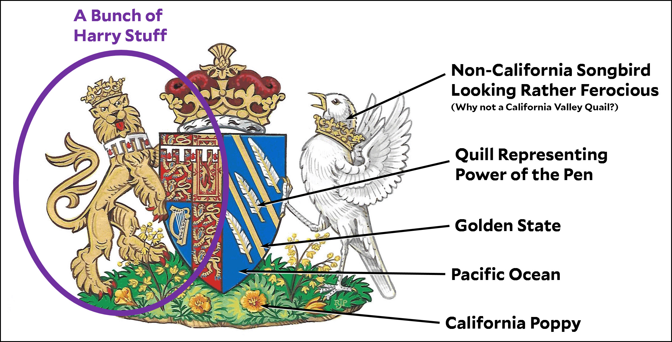 Duchess Of California Gets New Coat Of Arms Mother Jones